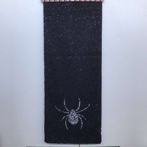 Halloween Spider Shimmery Table Runner
